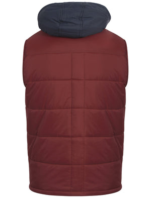 Tokyo Laundry Nordisk red gilet