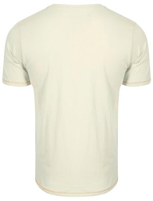 Norton Cove Motif T-Shirt in Ivory - Tokyo Laundry