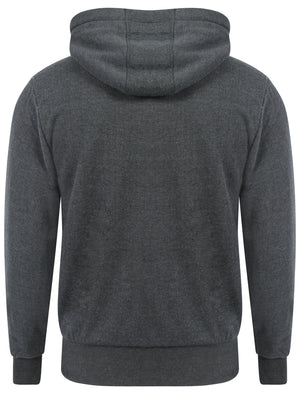 Tokyo Laundry Nowood River charcoal borg lined hoodie