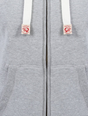 Tokyo Laundry grey borg lined hoodie