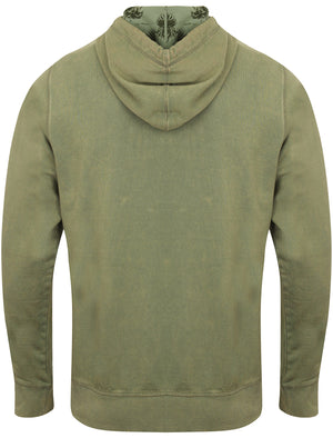 Olaf Cotton Pullover Hoodie in Olivine Khaki – Tokyo Laundry
