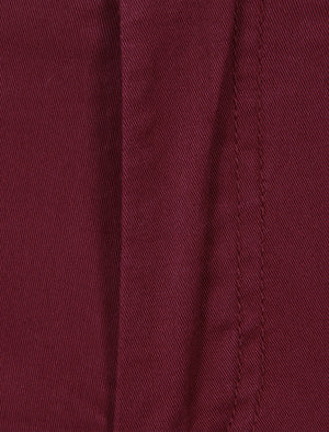 Paros Cotton Twill Chinos in Heritage Red – Tokyo Laundry