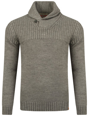 Tokyo Laundry Perico knitted jumper in grey
