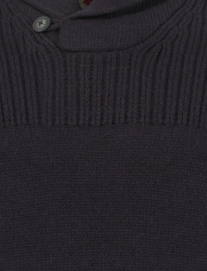 Tokyo Laundry Perico knitted jumper in navy