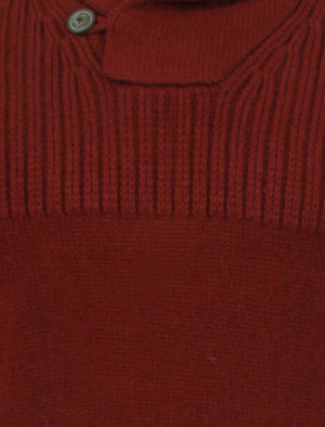 Tokyo Laundry Perico knitted jumper in red