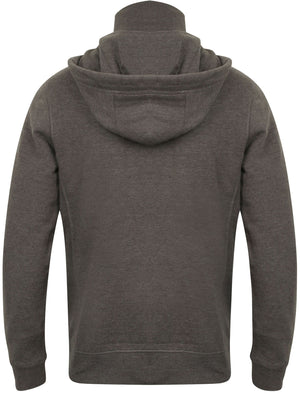 Mcclain Pullover Hoodie with Funnel Neck in Dark Grey Marl – Tokyo Laundry