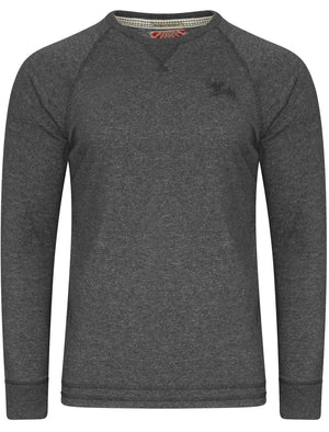 Port Hayward Slub Long Sleeve Top in Charcoal Marl – Tokyo Laundry