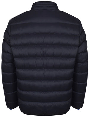 Presido Quilted Puffer Jacket in Midnight Blue - Tokyo Laundry