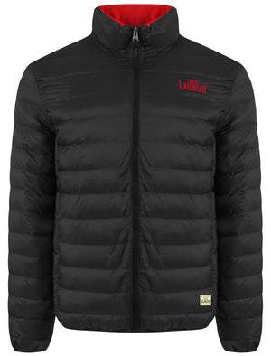 Rawcliffe Quilted Puffer Jacket in Black - Tokyo Laundry