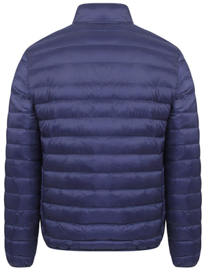 Rawcliffe Quilted Puffer Jacket in Midnight Blue - Tokyo Laundry
