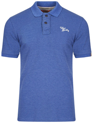 Polo Shirt in Cornflower Blue - Tokyo Laundry