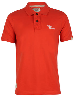 Rochester Polo Shirt in Paprika - Tokyo Laundry