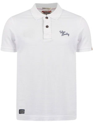 Rochester Polo Shirt in Optic White – Tokyo Laundry