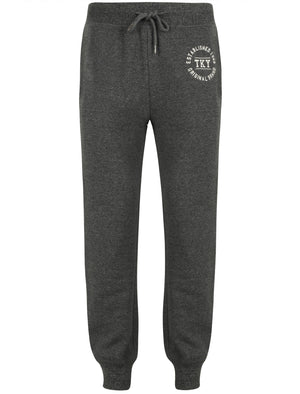 Roosburg Brush Back Fleece Joggers In Jet Black – Tokyo Laundry