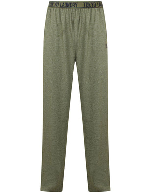 Ruskin Lounge Pants in Thyme Marl Fleck - Tokyo Laundry