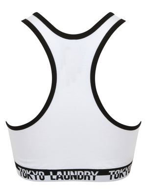 Sassi Sports Bra and Briefs Set in Optic White – Tokyo Laundry