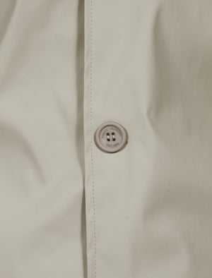 Reilly Shower Resistant Trench Coat in Stone - Tokyo Laundry