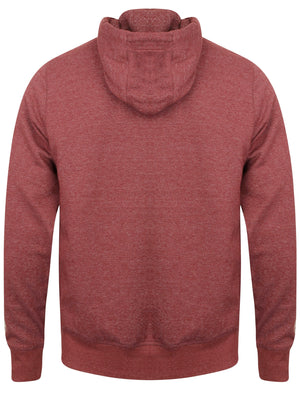 Snohaus Zip Through Hoodie in Oxblood / Eggshell - Tokyo Laundry