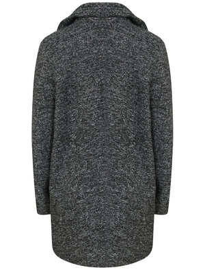 Sonar Tailored Overcoat In Grey Boucle  - Tokyo Laundry