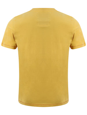 Tokyo Laundry Summer Surf casual t-shirt in Yolk Yellow