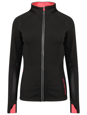 Swoopes Panelled Running Jacket in Black – Tokyo Laundry Active