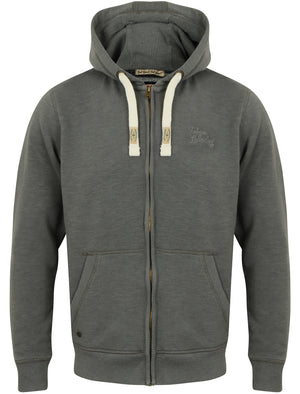 Timberwolf Zip Through Hoodie in Timberwolf Grey – Tokyo Laundry