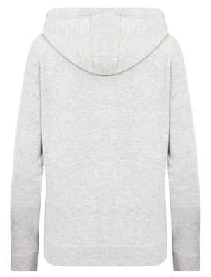 Thalia Zip Through Hoodie In Ice Grey Marl – Tokyo Laundry