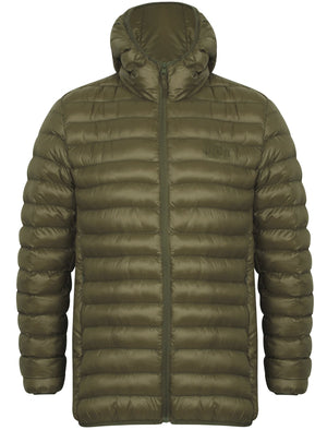 Torbock Quilted Puffer Jacket in Amazon Khaki – Tokyo Laundry