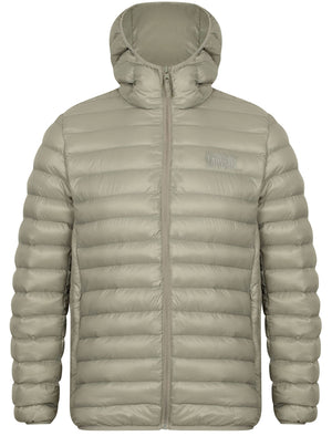 Torbock Quilted Puffer Jacket in Silver Grey – Tokyo Laundry