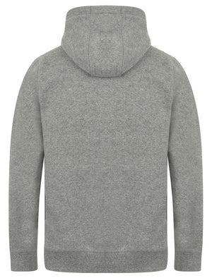 Vandenburg Pullover Hoodie with Borg Lined Hood In Mid Grey Marl – Tokyo Laundry