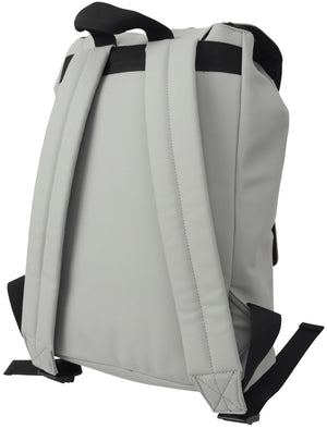 Venice Beach Drawstring Backpack In Light Grey - Tokyo Laundry