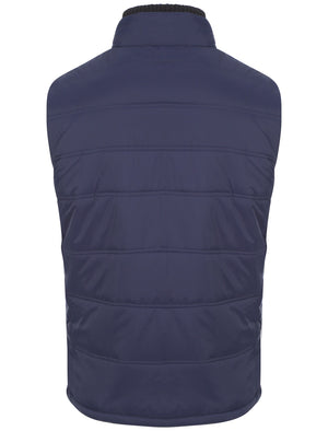 Tokyo Laundry Verbier blue gilet