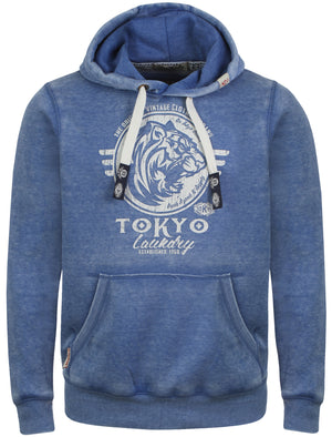Tokyo Laundry Vermont blue hoodie