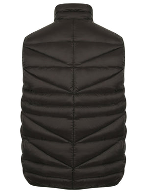 Vienna Irregular Quilted Gilet in Black – Tokyo Laundry