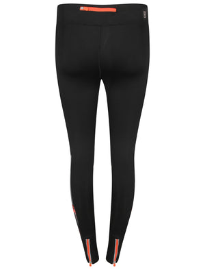 Wagner Floral Panel Workout Leggings in Black – Tokyo Laundry Active