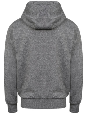 Whonnock Lake Borg Lined Hoodie in Charcoal / Grey Marl - Tokyo Laundry
