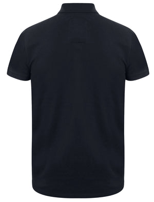 Winterfield Pique Polo Shirt in Dark Navy – Tokyo Laundry