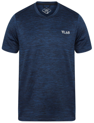 Wolfburg V Neck Sports T-Shirt In Sapphire – Tokyo Laundry Active