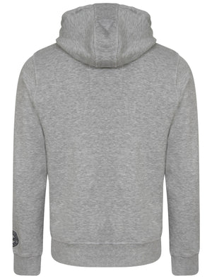 Wonowon Zip Through Hoodie in Light Grey Marl - Tokyo Laundry
