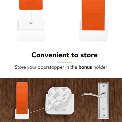 Door Stopper (Orange 6 pack)
