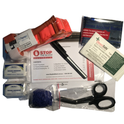STOP the BLEED CAT Pak [Waterproof] Kit