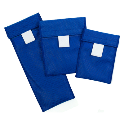 Medication Cooler Pouch - Single Blue