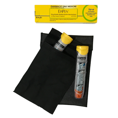 XL Medication Cooler Pouch - Black