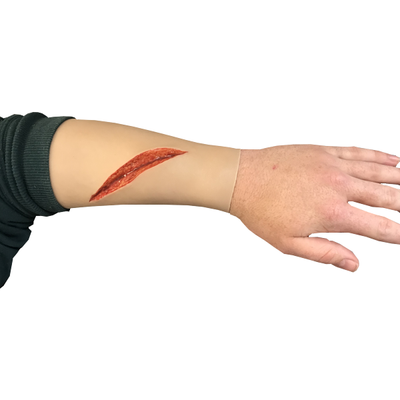 TraumaWear Large Sharp Laceration - Forearm