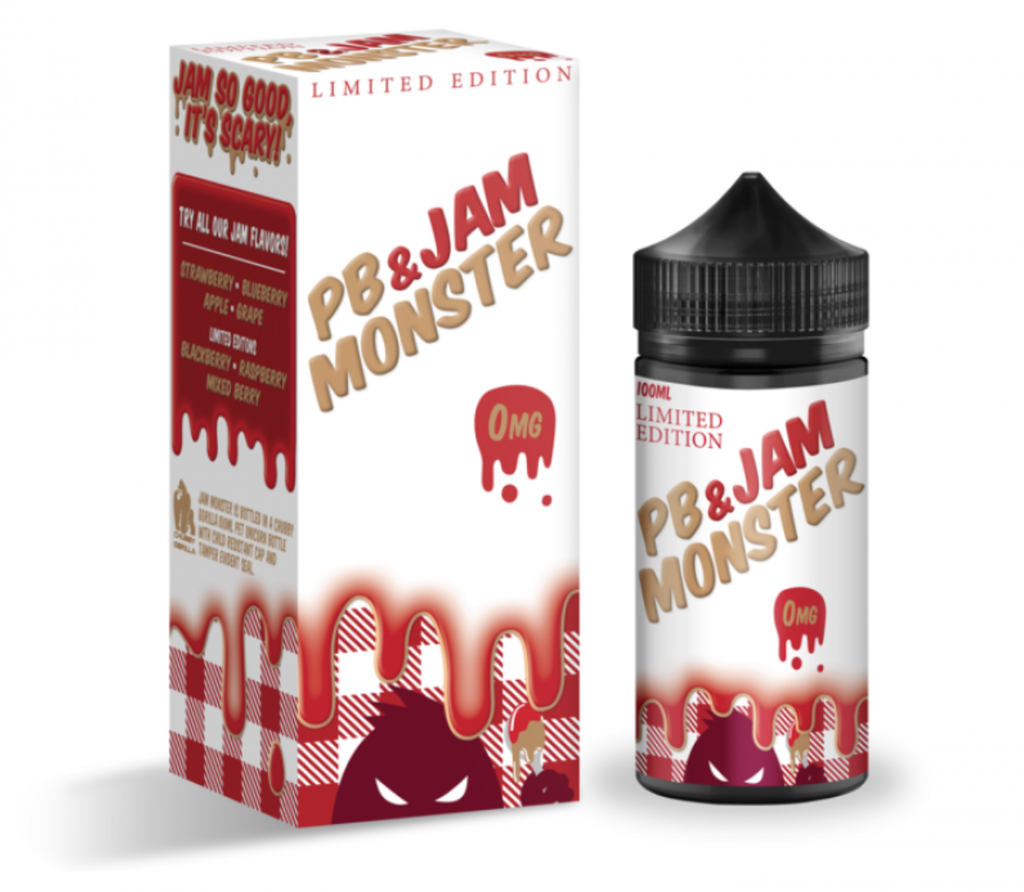 Peanut Butter and Jam Monster Strawberry