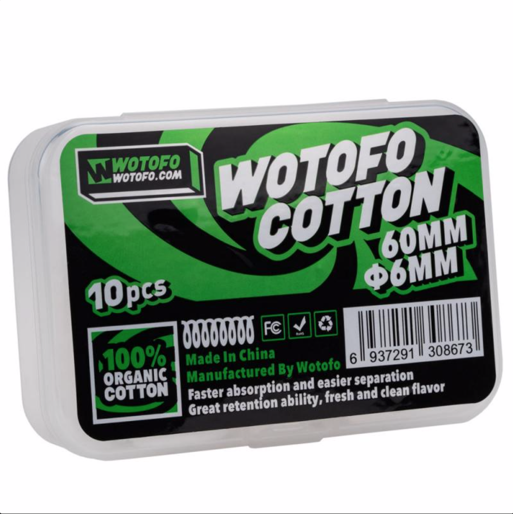 Wotofo Cotton w/Aglets