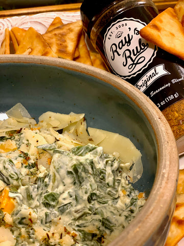 Ray's Rub Spinach Dip
