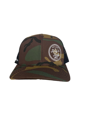Logo Hat(Dark Camo)