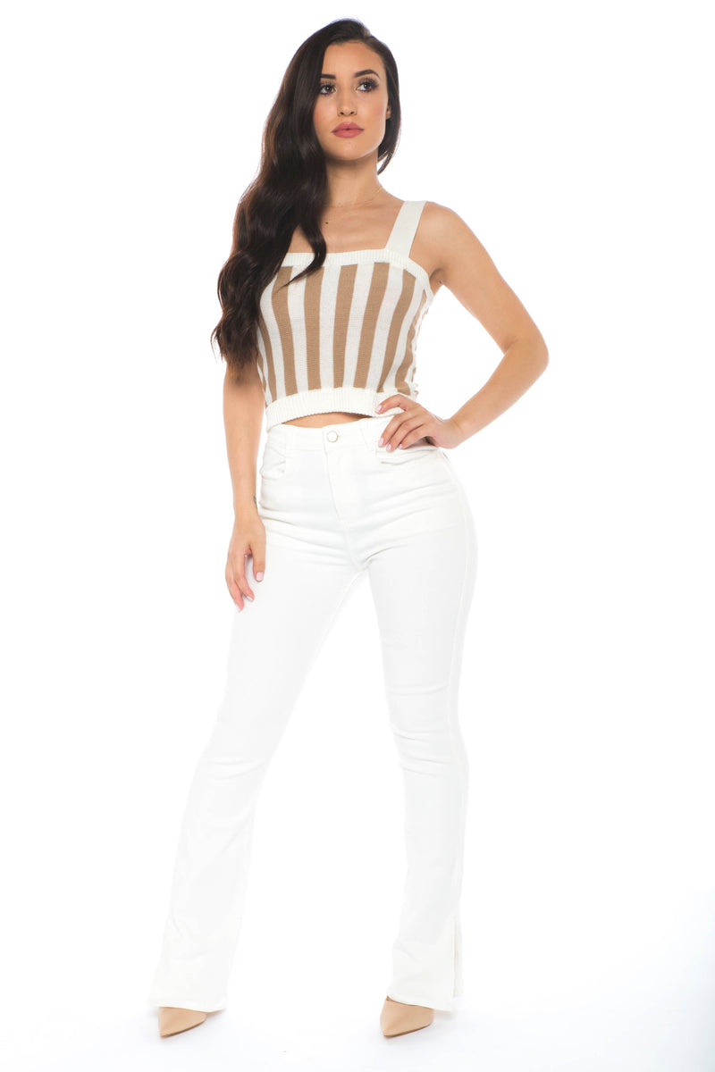 Kerry stripe top