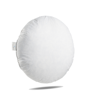 Round Pillow insert, sham stuffer - 95% feathers 5% Down